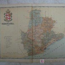 Mapas contemporáneos: MAPA DE BARCELONA. 1900. LITOGRAFIA. EDICION ALBERTO MARTIN. Lote 15788767