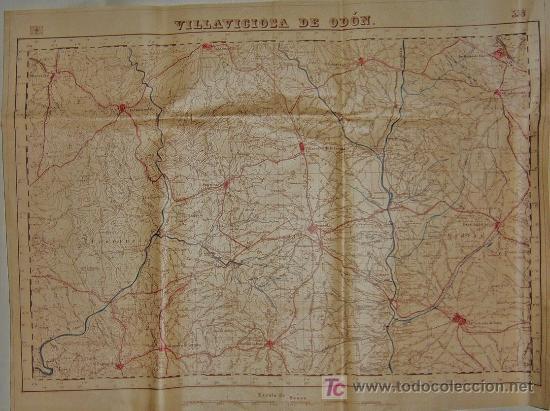 Mapa Villaviciosa De Odon.Mp006 Mapa De Villaviciosa De Odon Cartografia Sold At