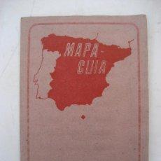 Mapas contemporáneos: GERONA. MAPA-GUIA. 45 X 32 CMS.. Lote 23392594