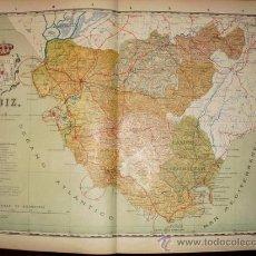 Mapas contemporáneos: 191? MAPA DE LA PROVINCIA DE CADIZ BENITO CHIAS Y CARBO. Lote 25429583