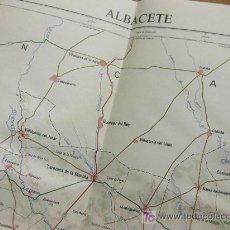 Mapas contemporáneos: MAPA OFICIAL DE ESPAÑA - CONJUNTOS PROVINCIALES - INSTITUTO GEOGRAFICO NACIONAL - 1978 ALBACETE. Lote 25511266