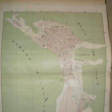 Mapas contemporáneos: 1900 PLANO DE LA CIUDAD DE CADIZ. Lote 27140751
