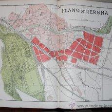 Mapas contemporáneos: 1900 PLANO DE LA CIUDAD DE GERONA. Lote 27215280