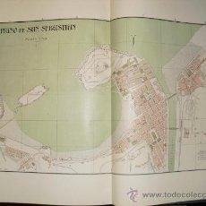 Mapas contemporáneos: 1900 PLANO DE LA CIUDAD DE SAN SEBASTIAN. Lote 27289723