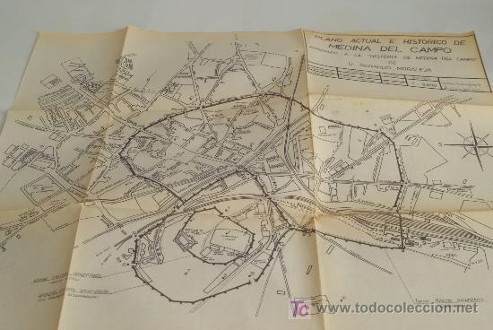 Medina Del Campo Mapa.Plano De Medina Del Campo 1971 Sold Through Direct Sale
