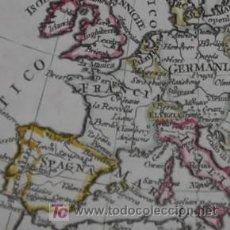 Mapas contemporáneos: MAPA DE EUROPA DE OLIVIERI, 1823. Lote 18575933