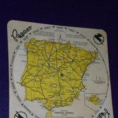 Mapas contemporáneos: PEGASO. MAPA DE LAS PRINCIPALES CARRETERAS DE ESPAÑA.. Lote 25464691