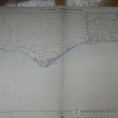 Mapas contemporáneos: 1901 HOJA 82 DEL MAPA MILITAR ITINERARIO DE ESPAÑA DE ALBUFEIRA A ALJARAQUE. Lote 20987359