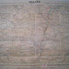 Mapas contemporâneos: ORGAÑA, NOVES SEGRE, GUARDIA ARES, TAHIS, PARROQUIA ORTO, ALINA - MAPA TOPOGRAFICO DE LA REGION. Lote 136020894