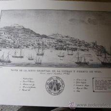 Mapas contemporáneos: VISTA DE LA CIUDAD Y PUERTO DE VIGO EN 1840 LIT MATEU - EDICION FACSIMIL 40 X 32 CM CORREOS 2.9€. Lote 24355280