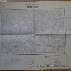 Mapas contemporáneos: MAPA DE GUITIRIZ ( LUGO) E 1: 25000 CARTOGRAFIA MILITAR DE ESPAÑA. Lote 24792802