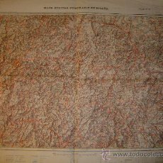 Mapas contemporáneos: HOJA 12 DEL MAPA MILITAR ITINERARIO DE ESPAÑA GALICIA E 1:200000. Lote 21961696
