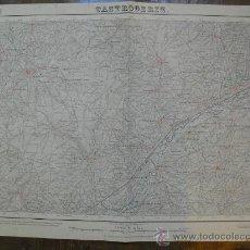 Mapas contemporáneos: 1924 MAPA DE CASTROGERIZ HOJA 237 DEL MTN 1:50000 PRIMERA EDICION IMPRESION EN COLOR. Lote 22015404