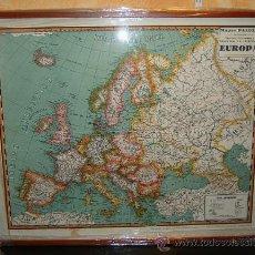 Mapas contemporáneos: MAPA DE EUROPA (RECIÉN ENMARCADO), AÑOS 40/50. . Lote 26863888