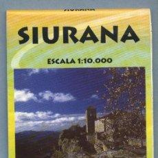 Mapas contemporáneos: SIURANA.PRIORAT.MAPA TOPOGRÀFIC EXCURSIONISTA.EDITORIAL PIOLET.. Lote 23129872