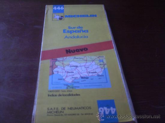 mapa michelin sur de espaa andalucia  Comprar Mapas