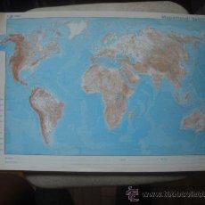 Zeitgenössische Karten - MAPA - MAPAMUNDI FISICO - 23277907