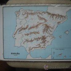 Zeitgenössische Karten - MAPA - ESPAÑA FISICO - 23277971