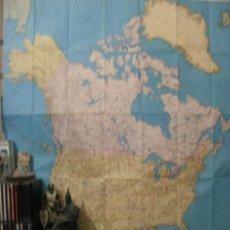 Mapas contemporáneos: MAPA NORTEAMERICA ESCALA 1 8 000 000 --REFM3E1. Lote 27846780