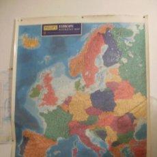 Mapas contemporáneos: MAPA EUROPA. Lote 27846794