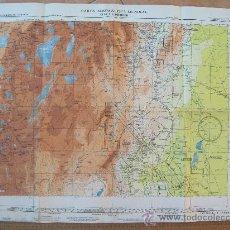 Mapas contemporáneos: CARTA AERONAUTICA MUNDIAL, SAN MIGUEL DE TUCUMAN, ARGENTINA. 3316. Lote 25613291