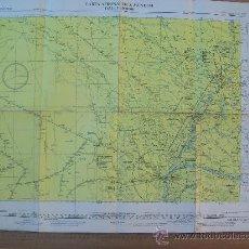 Mapas contemporâneos: CARTA AERONAUTICA MUNDIAL, RESISTENCIA, ARGENTINA. 3315. Lote 25613328