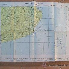 Mapas contemporâneos: CARTA AERONAUTICA MUNDIAL, MAR DEL PLATA, ARGENTINA. 3492. Lote 25613370