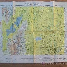 Mapas contemporâneos: CARTA AERONAUTICA MUNDIAL, CORDOBA, ARGENTINA. 3382. Lote 25613399