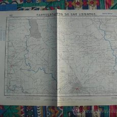 Mapas contemporáneos: 1918 EDICION MILITAR DEL MAPA DE CASTILBLANCO DE LOS ARROYOS E 1:50000. Lote 27604874