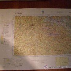 Mapas contemporáneos: MAPA MILITAR ESCALA 1:400000. ZONA DE BURGOS. COORDENADAS SISTEMA UTM.. Lote 26407064