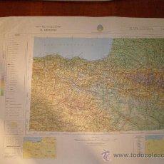 Mapas contemporáneos: MAPA MILITAR ESCALA 1:800000. ZONA DE ZARAGOZA. COORDENADAS SISTEMA UTM.. Lote 26407348
