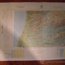 Mapas contemporáneos: MAPA MILITAR ESCALA 1:800000. ZONA DE SALAMANCA. COORDENADAS SISTEMA UTM.. Lote 26407382