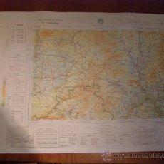 Mapas contemporáneos: MAPA MILITAR ESCALA 1:200000. ZONA DE HOSPITALET. COORDENADAS SISTEMA UTM.. Lote 26407672