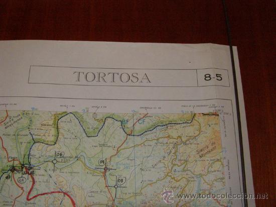Mapas contemporáneos: Mapa militar escala 1:200000. Zona de Tortosa. Coordenadas sistema UTM. - Foto 2 - 26407778
