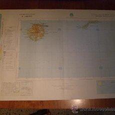 Mapas contemporáneos: MAPA MILITAR ESCALA 1:400000. ZONA DE LAS PALMAS. COORDENADAS SISTEMA UTM.. Lote 26407856