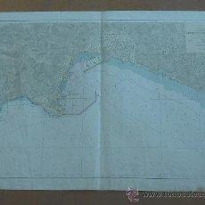 Cartes géographiques contemporaines: MAPA DE PUERTO DE PALMA DE MALLORCA, 1960. GIGANTE.. Lote 26549487