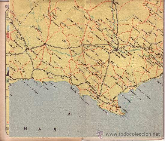 mapa de carretera andalucia levante albacete y  Comprar Mapas