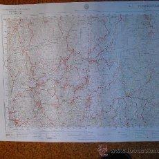 Mapas contemporáneos: MAPA MILITAR 1:50000 SERIE L PUENTEAREAS PEÑAFIEL POLIENTES NAVAS DE ORO STA Mª DEL CAMPO. Lote 27800685