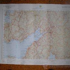 Mapas contemporáneos: MAPA MILITAR 1:50000 SERIE L PONTEVEDRA PORTILLO CORUÑA SANTIAGO EL BARCO CABRALES. Lote 27800801