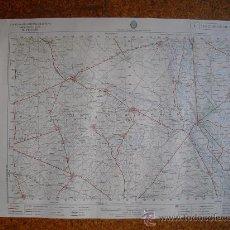 Mapas contemporáneos: MAPA MILITAR 1:50000 SERIE L SAN CEBRIAN DE CAMPOS MANSILLA DE LAS MULAS VALENCIA DE DON JUAN. Lote 27856737