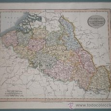 Mapas contemporáneos: MAPA ANTIGUO DE HOLANDA PAISES BAJOS NETHERLANDS ATLAS 1815 - 1816. Lote 27883328