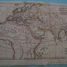 Mapas contemporáneos: ANTIGUO MAPA DEL MUNDO CONOCIDO EN LA ANTIGÜEDAD