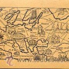 Mapa antiguo de europa sobre corcho comprar mapas contempor neos en todocoleccion 27940879 - Mapa de corcho ...