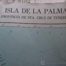 Mapas contemporáneos: MAPA DE LA ISLA DE LA PALMA, INSTITUTO GEOGRAFICO NACIONAL, EDICION PARA EL TURISMO. Lote 28216796