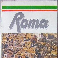 Mapas contemporáneos: ROMA (ITALIA) PLANO CALLEJERO DE LA CIUDAD, AÑO 1990 VER FOTO ADICIONAL. Lote 28242875