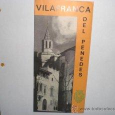 Mapas contemporáneos: MAPA VILAFRANCA DEL PENEDES. Lote 28637674