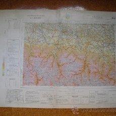 Mapas contemporáneos: 1970 MAPA DE VIELLA DEL MAPA MILITAR DE ESPAÑA E 1: 200000. Lote 28805108