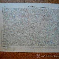 Mapas contemporáneos: PRIMERA EDICION EN 1952 DEL MAPA DE ALCORA E 1:50000 EDICION EN VARIAS TINTAS. Lote 28900015