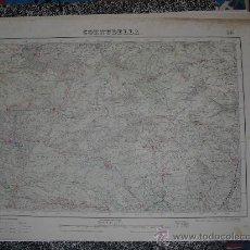 Mapas contemporáneos: SEGUNDA EDICION EN 1952 DEL MAPA DE CORNUDELLA E 1:50000 EDICION EN VARIAS TINTAS. Lote 28906797