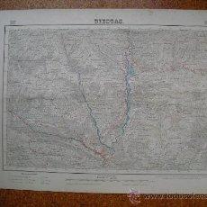 Mapas contemporáneos: SEGUNDA EDICION EN 1952 DEL MAPA DE BIESCAS E 1:50000 EDICION EN VARIAS TINTAS. Lote 28915527